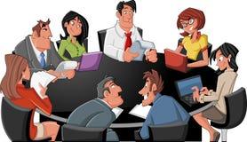 Kreskówek ludzie biznesu ilustracji