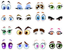 kreskówek oczy