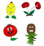 Kreskówek owoc Obraz Royalty Free