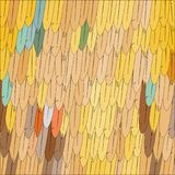 Kreskówek piórek jasnobrązowy tło Fotografia Stock