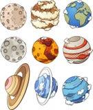 Kreskówek planety ilustracja wektor
