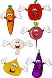 kreskówek warzywa Fotografia Royalty Free