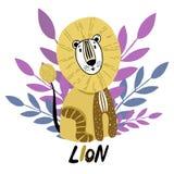 Kreskówek Wektorowi Afrykańscy zwierzęta ilustracja wektor