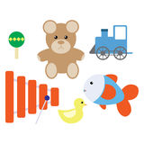 Kreskówek zabawki Fotografia Stock