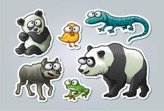 Kreskówek zwierzęta Obraz Royalty Free