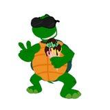 Kreskówka żółw z lody 1 royalty ilustracja