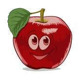 Kreskówka Apple Zdjęcia Royalty Free