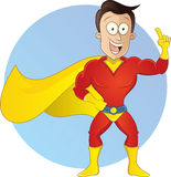 Kreskówka bohatera ilustracja Zdjęcie Royalty Free