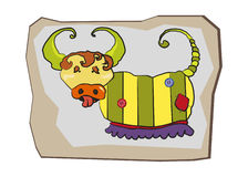 Kreskówka character-8 Fotografia Stock