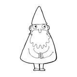 kreskówka czarownik royalty ilustracja