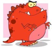 Kreskówka Dinosaur ilustracji