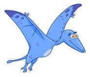 Kreskówka dinosaura pterodaktyl royalty ilustracja