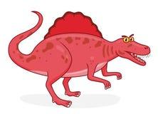 Kreskówka dinosaura spinosaurus ilustracji