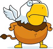Kreskówka Gniewny gryf ilustracja wektor