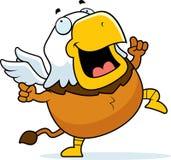 Kreskówka gryfa taniec zdjęcie royalty free