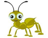 Kreskówka insekta mrówka Obrazy Royalty Free