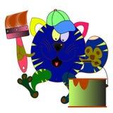 kreskówka kot Obraz Royalty Free