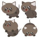 Kreskówka kota ilustracja royalty ilustracja