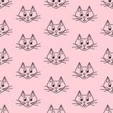 Kreskówka koty Fotografia Stock