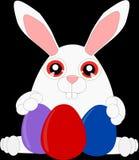 Kreskówka królik (1) royalty ilustracja
