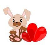 Kreskówka królik ilustracja wektor