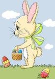 Kreskówka królik Zdjęcia Royalty Free