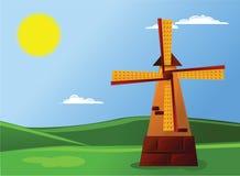 kreskówka krajobraz ilustracji
