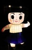 Kreskówka lampion w Hong Kong fotografia royalty free