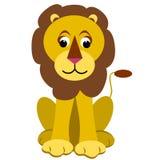 Kreskówka lew Fotografia Royalty Free