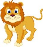 Kreskówka lew dla ciebie projektuje Zdjęcia Stock