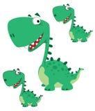 kreskówka śliczny Dino Zdjęcie Royalty Free