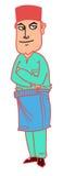 Kreskówka mężczyzna Zdjęcia Royalty Free