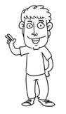 Kreskówka mężczyzna Fotografia Stock