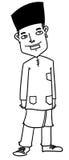 Kreskówka mężczyzna Fotografia Royalty Free