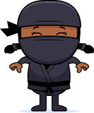 Kreskówka Mały Ninja royalty ilustracja