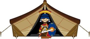 Kreskówka namiot i ilustracja wektor