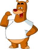 Kreskówka niedźwiedź Zdjęcie Royalty Free