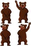 Kreskówka niedźwiadkowy set Zdjęcie Stock