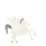kreskówka Pegasus z myśl bąblem Fotografia Stock