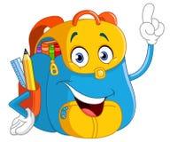Kreskówka plecak ilustracji