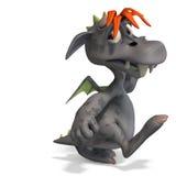 kreskówka potwór kolorowy śmieszny Zdjęcie Stock