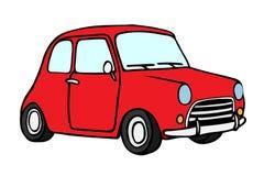 Kreskówka Retro samochód Zdjęcie Royalty Free