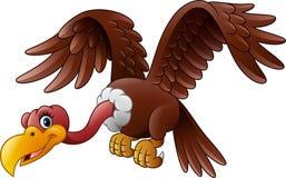Kreskówka sępa latanie royalty ilustracja