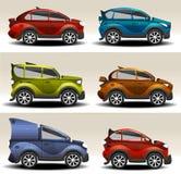 Kreskówka samochody Obrazy Royalty Free