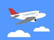 Kreskówka samolot Zdjęcie Stock