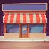 Kreskówka sklep ilustracji