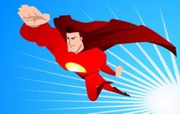 Kreskówka Super bohater ratunek royalty ilustracja
