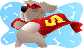Kreskówka Super pies ilustracji