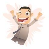 Kreskówka szczęśliwy szef Zdjęcie Royalty Free