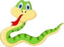 Kreskówka wąż dla ciebie projektuje Fotografia Royalty Free